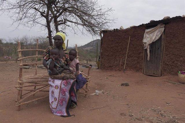 Trabajo de Ayuda en Acción y la Fundación Kirira en el norte de Kenia