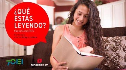 La Fundación SM y la OEI lanzan la sexta edición del concurso iberoamericano Qué estás leyendo