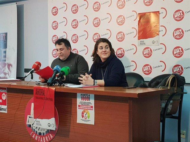 Miguel Pi y Laura Guate