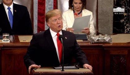 Trump anuncia el refuerzo militar en la frontera con México como uno de los cuatro pilares de su plan anual