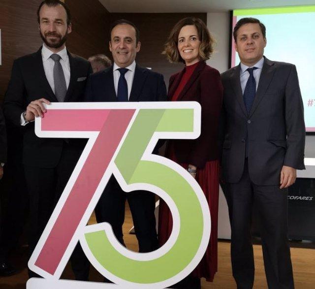 Celebración del 75º aniversario del Grupo Cofares