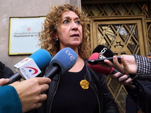 La consellera de Justícia de la Generalitat, Ester Capella