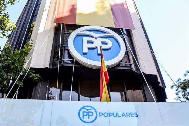 Seu del PP a Madrid