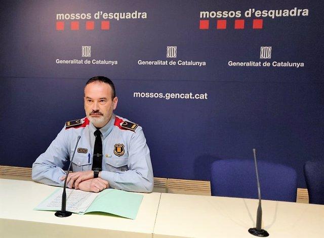 Inspector de Mossos d'Esquadra Pere Pau Guillén