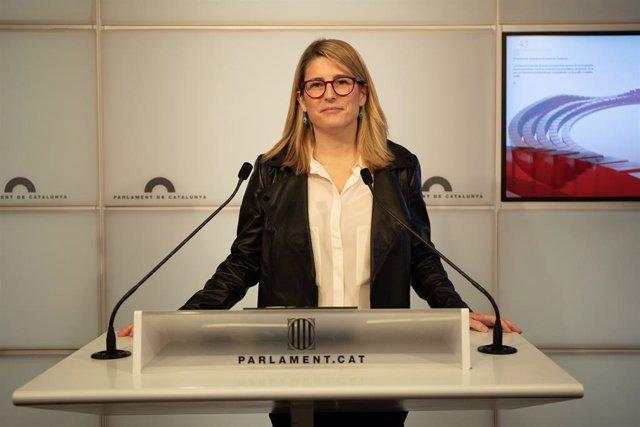 Elsa Artadi, consellera de la Generalitat