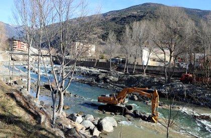 """Els ecologistes acudiran a la justícia si Agricultura no atura """"immediatament"""" les obres al canal de piragüisme de Sort"""