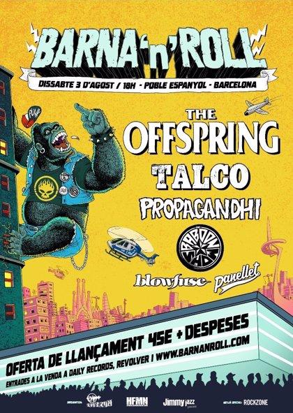 El festival Barna'n'Roll tindrà Offspring com a cap de cartell