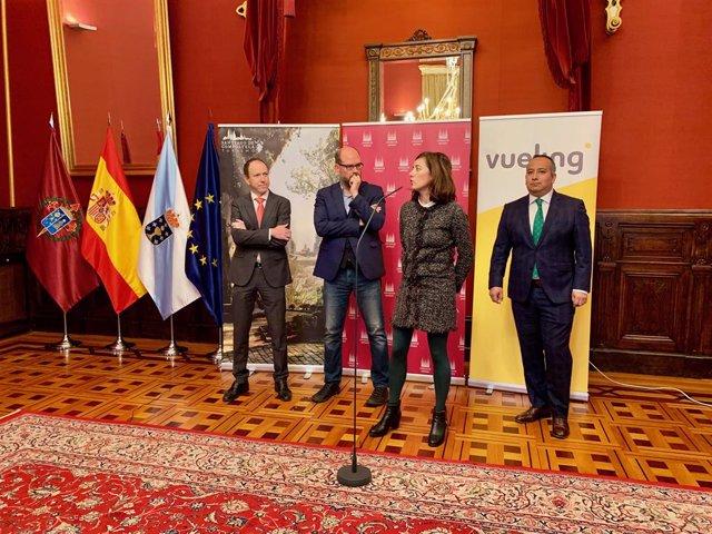 Ricardo López, Martiño Noriega, Marta Lois i Manuel Ambriz