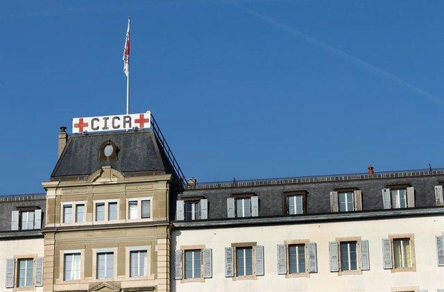 La sede del Comité Internacional de Cruz Roja (CICR) en Ginebra