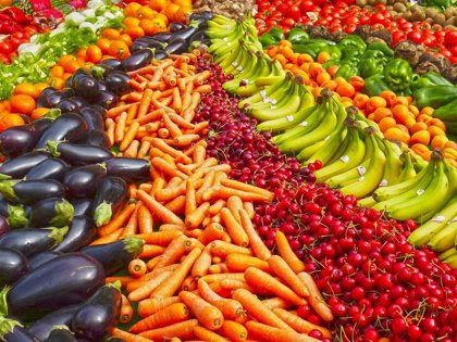 Cuantas más frutas y verduras consumas más sana estará tu mente