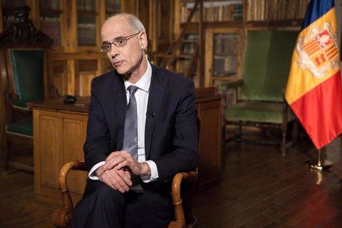 El cap de Govern d'Andorra, Toni Martí