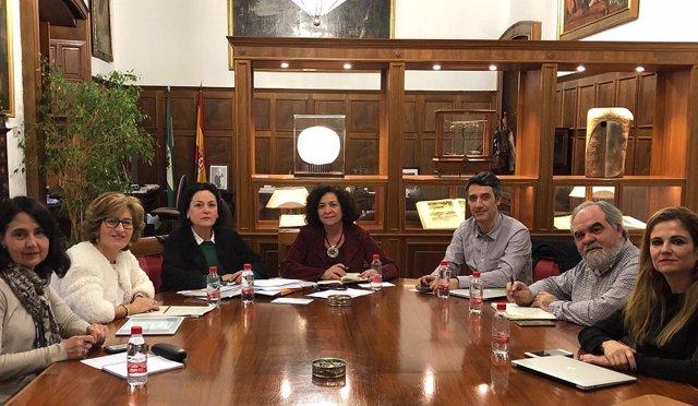 Reunión de la UGR y la EASP