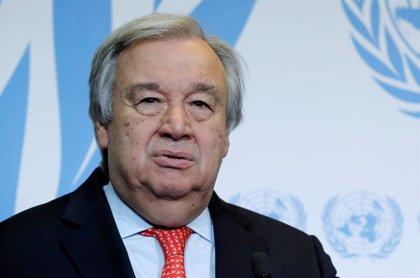 """Guterres apoya los esfuerzos internacionales para encontrar """"una solución política"""" a la crisis de Venezuela"""