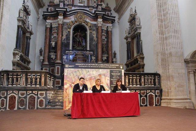 Inauguració de la Trobada d'Escriptors de la Biblioteca Valenciana