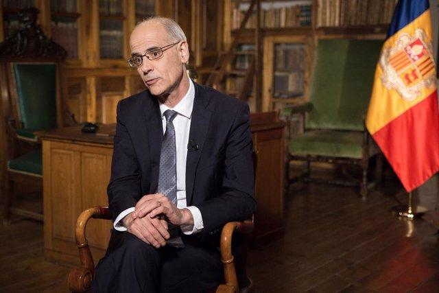 El jefe de Gobierno de Andorra, Toni Martí