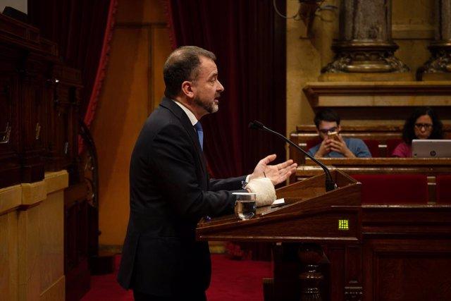Ple al Parlament de Catalunya (arxiu)