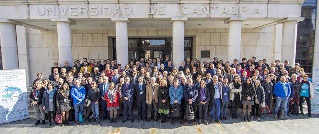 Inauguración oficial del Congreso Bienal de la Real Sociedad Matemática Española
