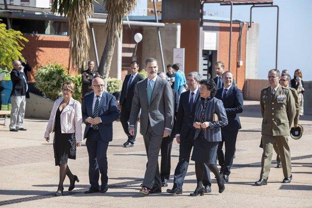 El rei viatja a Gran Canària per lliurar el 'Premi Fundació Princesa de Girona'