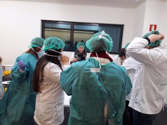 Prácticas en el Hospital General de Villaba