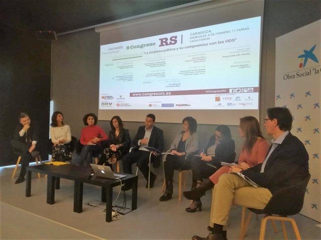 La joranda se ha celebrado hoy en CaixaForum Zaragoza
