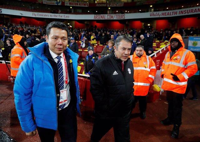 El presidente del Cardiff City, Mehmet Dalman