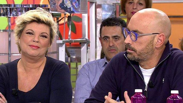 Terelu Campos y Diego Arrabal en Sálvame