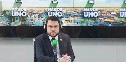 Aragonès lamenta les crítiques per la figura del relator