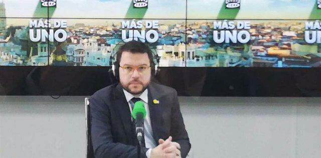 Pere Aragonès a Onda Cero