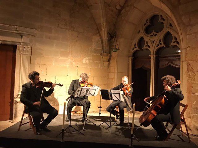 Concierto en el Reial Monestir de Vallbona de les Monges (Lleida)