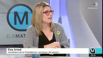 """Artadi dice que Calvo ha aceptado """"hasta tres veces en privado"""" la  creación de una mesa de partidos estatales"""