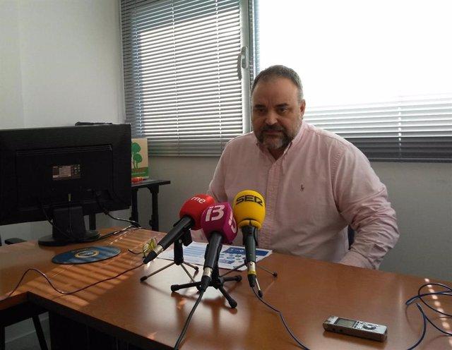 Jordi Llabrés, vicerrector de Innovación y Relaciones Institucionales de la UIB