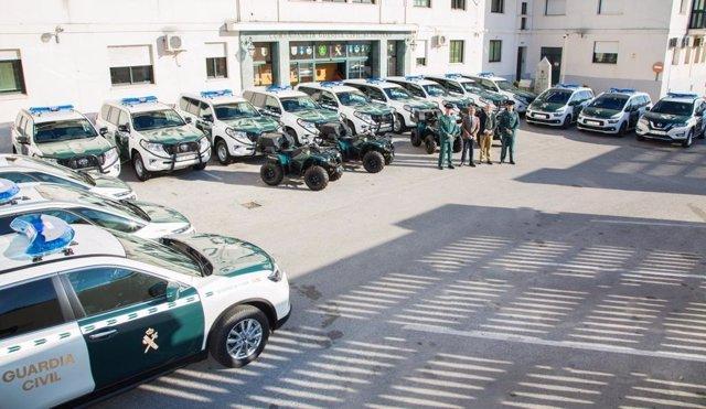 Nuevos vehículos para la Guardia Civil de Algeciras