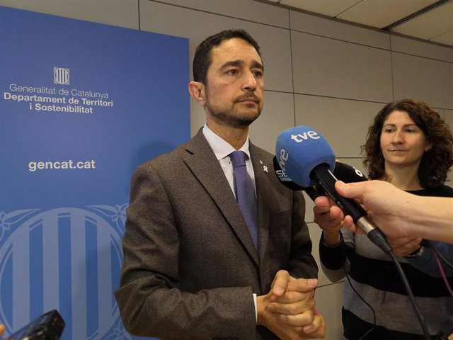 El conseller de Territorio y Sostenibilidad de la Generalitat, Dami Calvet
