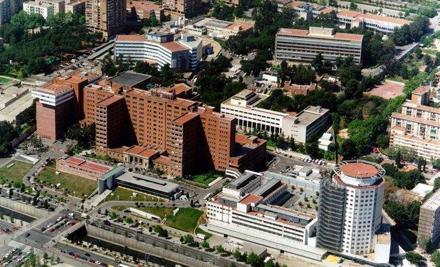 L'Hospital Vall d'Hebron de Barcelona.