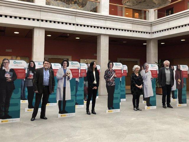 Presentación de la campaña de la UC 'Somos mujeres, somos investigadoras'