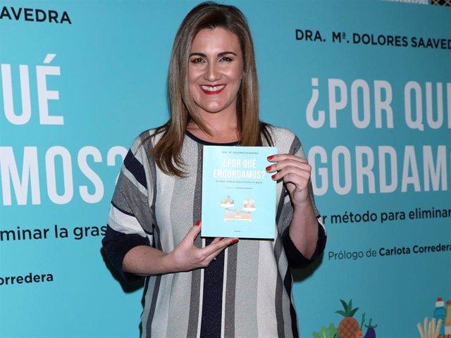 """Carlota Corredera: """"La única persona que me preocupa lo que diga sobre mi talla"""