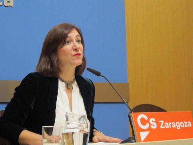 Sara Fernández (Cs), hoy en el Ayuntamiento