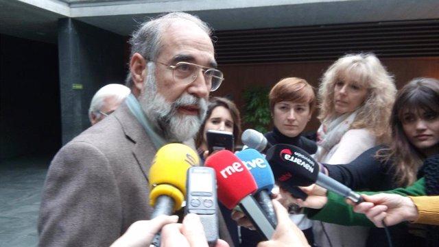 Fernando Domínguez, consejero de Salud del Gobierno de Navarra