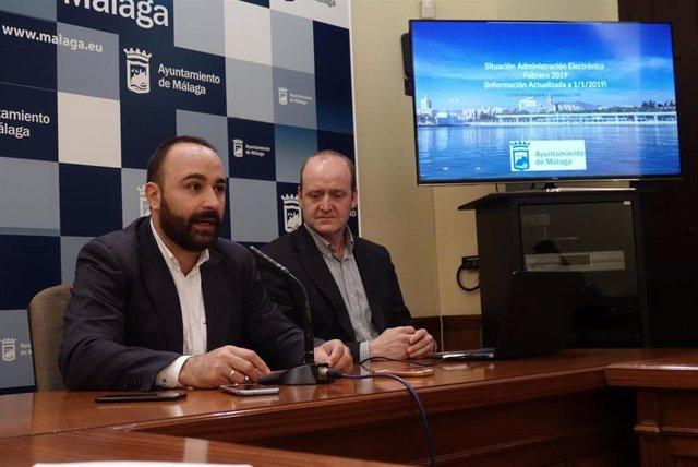 Mario Cortés informa sobre adminisrtación electrónica