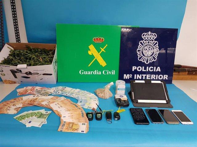 Operación Rescates con tres detenidos en Arousa y Asturias.