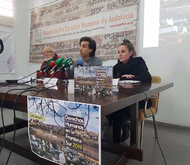 Apdha presenta el Informe Frontera Sur 2019