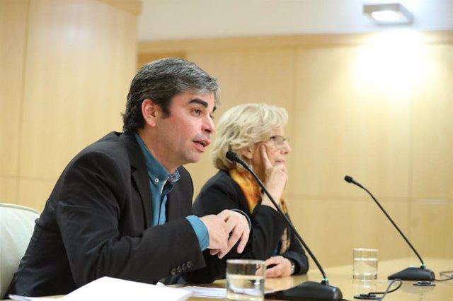 El delegado de Economía del Ayuntamiento de Madrid, Jorge García Castaño