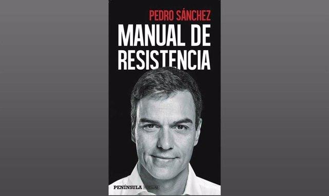 Portada del libro Manual de resistencia, de Pedro Sánchez