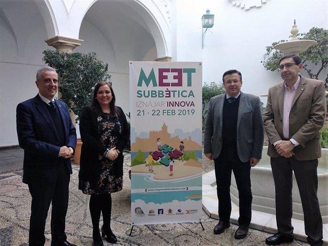 Presentación del IV 'Meet Subbética-Iznájar Innova'