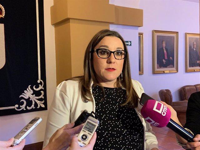 La diputada de Podemos María Díaz