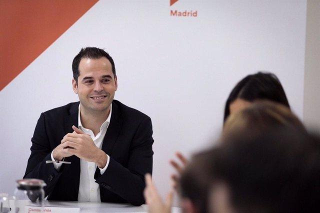 El portavoz de Cs en la Asamblea de Madrid, Ignacio Aguado, preside el Comité Au