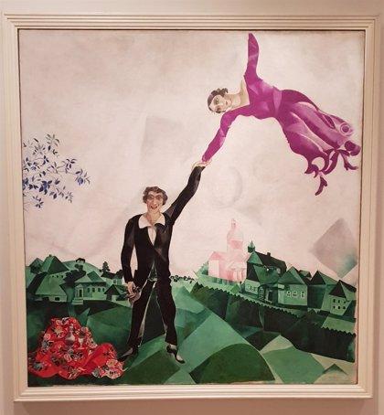 Fundación Mapfre recorre la prosa de Chagall y la abstracción de Malévich a través de 27 vanguardistas rusos en Madrid