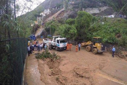 Al menos cinco muertos deja un fuerte temporal de lluvia y viento en Río de Janeiro (Brasil)