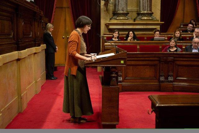 Jenn Díaz (ERC) al Parlament