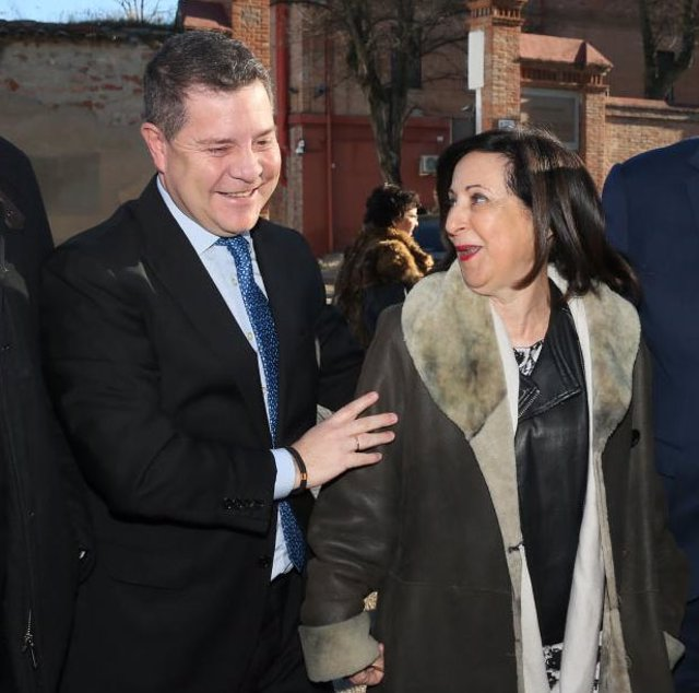 Emiliano García Page i Margarita Robles